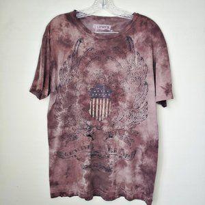 Levi's Mens Large Genuine Brand Eagle T-Shirt Tee